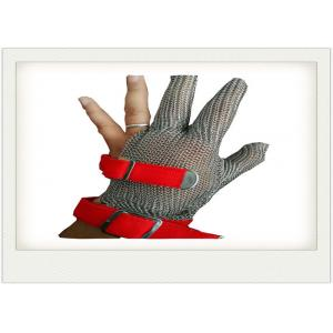 China Cut Resistant Stainless Steel Gloves Metal Welded For meat industry on sale
