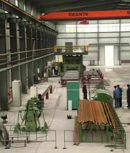 China Membrane Panel Production Line , Membrane Wall Tube Panel Welding Line on sale