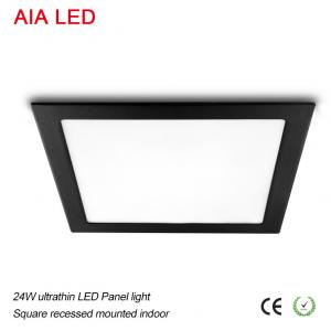 China AIA LED Lighting white good quality 24W Square LED Panel light in bedroom used on sale
