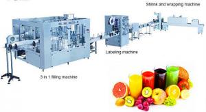 China Automatic Fruit Juice Production Line , Fruit Juice Factory Machines Ultrafiltration System on sale