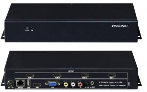 China HDCP Compliant Video Wall Hdmi Controller4 Displays Full Digital Chipset Process on sale
