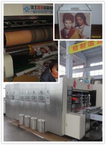 Quality High Speed Corrugated Sheet Flex Die Cut Sticker Printing Machine of Slotting for sale