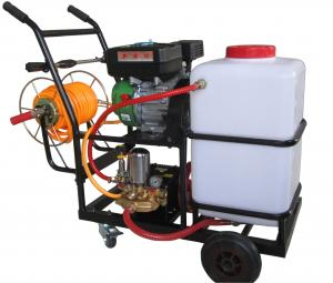 China 3KW Top quality agricultural petrol engine power sprayer by hand pump on sale