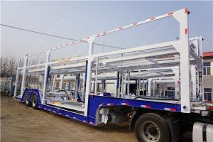 25 tons 2 axle car hauler auto transport trailer To carry 9