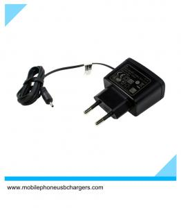 China Promotional wholesale abs black eu 0.7a 6101 phone battery charger on sale
