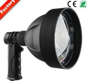 China Black Powerful LED Handheld Lights Cree T6 10W Waterproof Led Searching Light on sale
