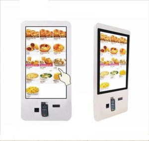 China 19, 22, 27, 32, 37 Inch Floor Standing Touchscreen Self-Service Terminal Kiosk Used for Order Meal Kiosk Vending Machine on sale