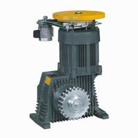 Geared Elevator Traction Machine , VVVF Drive , Escalator