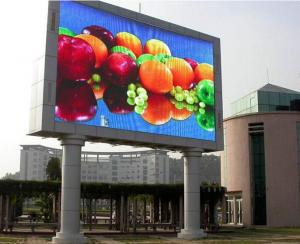 China RGB SMD Outdoor Advertising LED Display High Definition P6 For Fixed on sale