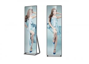 China 28kg Slim Indoor LED Poster LED Advertising Signs 160 degree Viewing Angle on sale