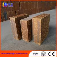 China Industrial Aluminum Silicate Fire Brick , Mullite Bricks With Good Swag Performance on sale