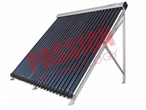 China Silver Color Pressurized Solar Collector , Solar Thermal Collectors For Flat Roof on sale