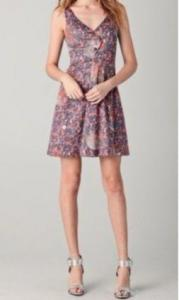 China Women's Printed Cotton Dress on sale