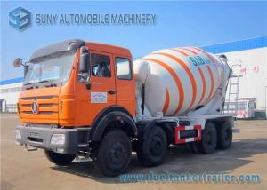 China Beiben 8x4 concrete mixing truck NG80 Cab Weichai 336hp Engine on sale