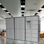 Smart All Day Service Laundry Locker With Electronic Safe Locks And Payment Hardware