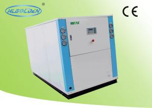China High efficiency Water Cooling Chiller box type R22 / R407C / R410A Refrigeration on sale