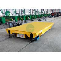 Electric Arc Furnace Material Transfer Battery IndustrialRailTrolley Cart 30 Tons