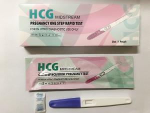 China Rapid Early Pregnancy Test Strips , Home Check Ovulation Test Kit Urine Specimen on sale