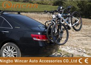 China Rear Mounted 3 Bike Steel Rear Bike Carrier for 4x4 vehicle Black Finish on sale