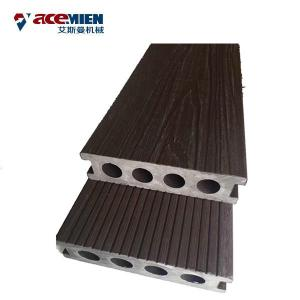 China WPC Embossing Wood Plastic Composite Production Line Profile Extrusion 3 Phase on sale