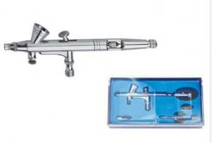 China Portable Lightweight Dual Action Airbrush Set For Nails Tattoo Painting AB-200 on sale