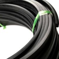 China Ozone Sealing 90 Shore A 35mm Extruded Rubber Cord on sale