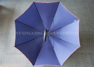 China Water Repellent Large Rain Umbrella , Royal Blue Corporate Branded Golf Umbrellas on sale