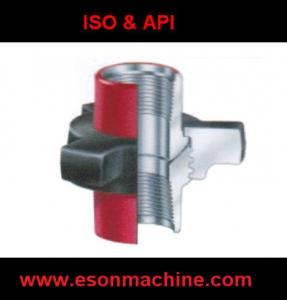 China High Pressure Pipe Fittings Rotary Part union Joint Part on sale
