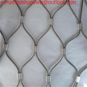 China wire cable netting/steel wire rope suppliers/zoo mesh/stainless steel cable hardware/zoo wire mesh/wire net mesh on sale