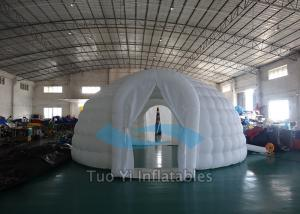 China Advertising Giant Inflatable Tents , Activity Air Tight Camping Air Dome Tent on sale