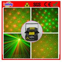 100mW R&G beautiful Gobos Mini party Laser stage light sound active Strobe lighting projector MNB40RG