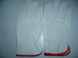 China Driver glove,  white glove,working glove on sale