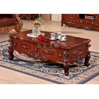 Antique furniture living room coffee table wood furniture french style table