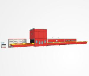 China convection glass tempering furnace for low-e glass on sale