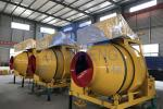 High Efficiency Diesel Concrete Mixer Hydraulic Hopper System Smooth Easy Operation