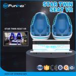 9D VR 360 Degrees Egg VR Chair Cinema Simulator / Interactive Game Virtual Reality Equipment