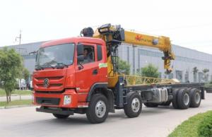 China Flexible Operation Truck Mounted Crane With Telescopic Boom 360 Degree Rotation on sale
