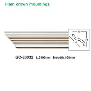 China PU crown molding/ crown moulding/ cornice at wholesale price wholesale