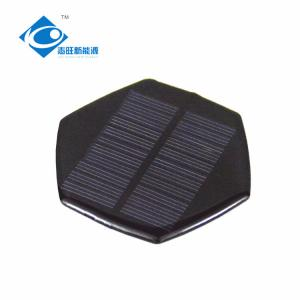 China 0.4W 5.5V Mini solar photovoltaic panels for Solar handmade toy ZW-R78 Epoxy Solar Panel for Home Solar Power System on sale