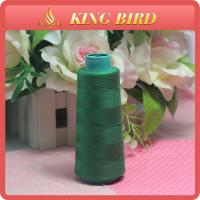 High Color Grade 40s / 2 Polyester Sewing Machine Thread For Industrial Use