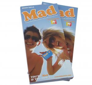 China Customizable matte oil vanishing cheap Printing Trade Magazines with glue binding on sale