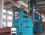 Stainless Steel Press Machine , Ball Pushing Type Hydraulic Pipe Fitting Machine