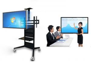 China Mobile Touch Screen Interactive Whiteboard In Primary Schools 400 Nits Brightness on sale