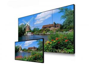 China Wall Mountable Digital Signage Video Wall , Subway Station Control Room Video Wall on sale