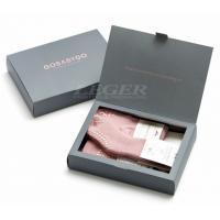 China Matt Coated Custom Paper Packaging for Baby Crawling Start Kit / Baby Socks Box on sale