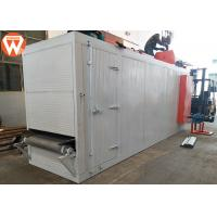 Mesh Belt Fish Feed Dryer 1000 Kg/H 30 Kw Electric Sinking For Continuous Production