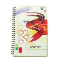 China PLASTICLENTICULAR 3D PET lenticular cover spiral pocket notebook-3D Lenticular Cover Notebook on sale