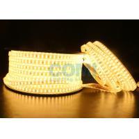 2835 Dual Row LED mount 168 LED / M High Voltage LED Strip Light 1000LM / Meter