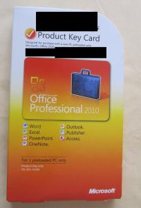 32bit 64bit DVD Microsoft Office 2010 Professional , Office