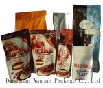PET / VMPET / PE Zip lock Stand Up Packaging Bags For Ground Coffee / Coffee Beans Customized